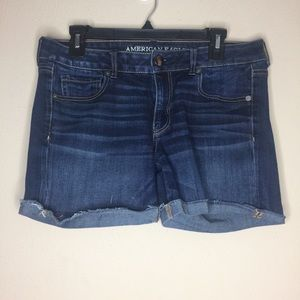 AEO Super Stretch Midi Shorts